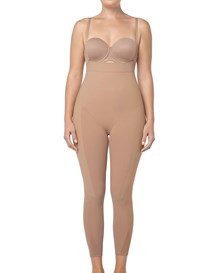 invisible bodysuit shaper with rear lift-852- Beige-MainImage