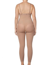 invisible body shaper with leg compression and butt lifter-852- Beige-MainImage