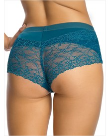 fabulous lace hip hugger control panty-563- Dark Blue-MainImage