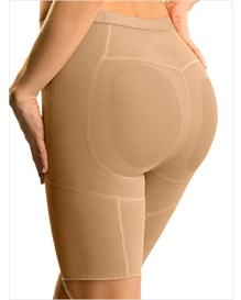 thigh slimming shaper short with butt lifter-880- Beige-MainImage