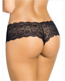 elegant lace hip hugger panty-700- Black-MainImage