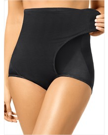 high-waist postpartum panty with adjustable belly wrap--MainImage