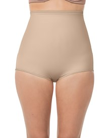 high-waist postpartum panty with adjustable belly wrap-802- Nude-MainImage