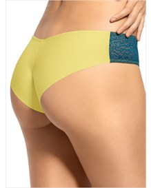 sultry lace hip hugger panty-151- Yellow/Blue-MainImage