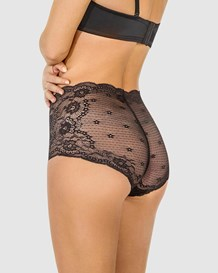 retro lace classic brief-700- Black-MainImage