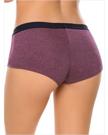 comfy perfect fit boyshort panty-466- Wine-MainImage