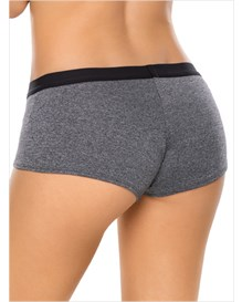 comfy perfect fit boyshort panty-737- Gray-MainImage