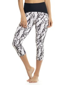 power up compression capri-012- Black Print-MainImage