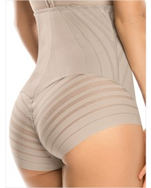 undetectable firm control hi-waist panty shaper-802- Nude-MainImage