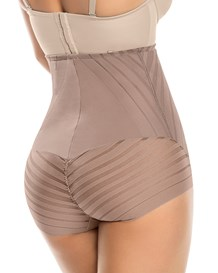 undetectable firm control hi-waist knicker shaper-857- Brown-MainImage