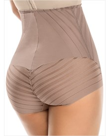 undetectable firm control hi-waist panty shaper-857- Brown-MainImage