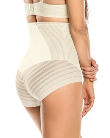 undetectable firm control hi-waist knicker shaper-898- Ivory-MainImage