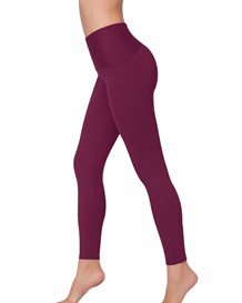 get fit compression pant-466- Red Wine-MainImage