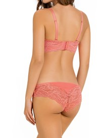 cheeky lace knicker with booty lift-358- Coral-MainImage