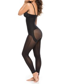 entire body shaper with booty lifter-700- Black-MainImage
