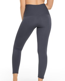 activelife power move moderate compression mid-rise athletic legging-779- Dark Grey-MainImage