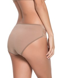 comfy hi-cut brief-857- Brown-MainImage