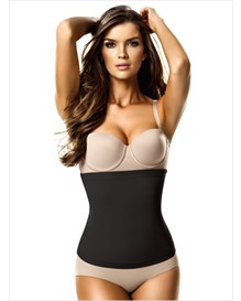no zip high waist cincher-700- Black-MainImage