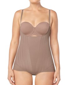 undetectable firm control bodysuit shaper-857- Brown-MainImage