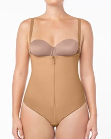 strapless body shaper with thong--MainImage