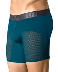 leo advanced mesh long boxer brief-563- Dark Blue-MainImage