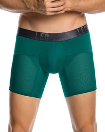 leo advanced mesh long boxer brief-666- Green-MainImage