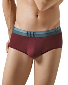 leo advanced microfiber brief-382- Wine-MainImage