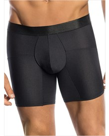 leo superior fit microfiber long boxer brief-700- Black-MainImage
