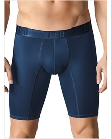 leo superior fit long boxer brief-509- Blue-MainImage
