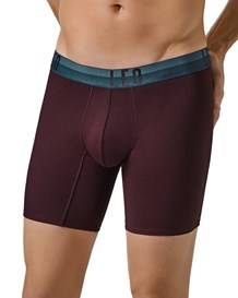 leo flex-fit cotton boxer brief-382- Wine-MainImage