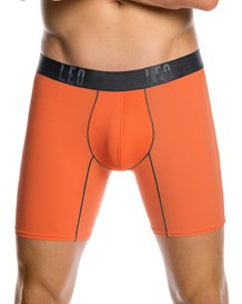 boxer medio deportivo con bolsillo lateral-260- Orange-MainImage