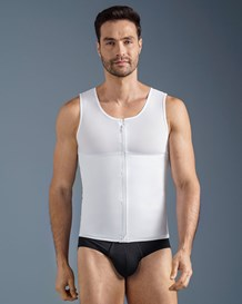 mens abs slimming body shaper with back support-000- White-MainImage