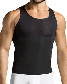 leo extra firm athletic control tank-700- Black-MainImage
