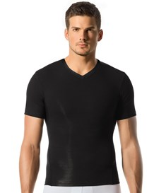 sports compression tee-700- Black-MainImage