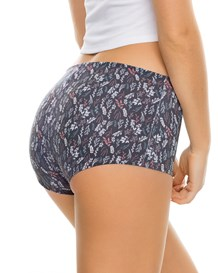 3 boyshorts in stretch cotton with good coverage--MainImage