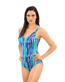 supportive one-piece bathing suit--MainImage