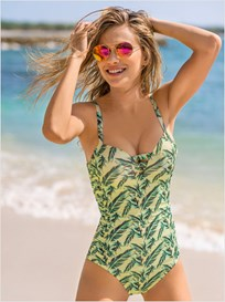 SLIMMING PUSH UP ONE-PIECE BATHING SUIT