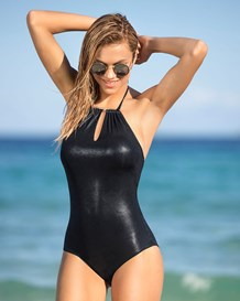 vestido de bano entero con cuello high neck y control de abdomen-700- Black-MainImage
