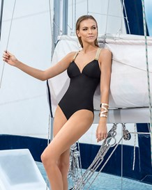slimming mesh racerback swimsuit-700- Black-MainImage