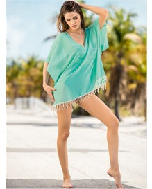 tunic beach cover-up-912- Aquamarine-MainImage