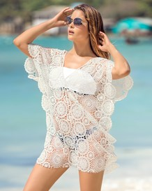 lace poncho cover-up-000- White-MainImage