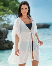 beach cover-up kimono-018- Ivory-MainImage