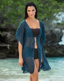 beach cover-up kimono-563- Dark Blue-MainImage
