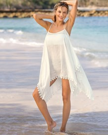 airy strappy back cover-up-018- Ivory-MainImage