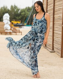 maxi beach cover-up-509- Blue-MainImage