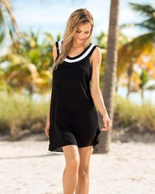 vestido corto de playa-700- Black-MainImage