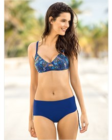 supportive top and versatile bottom swimsuit-549- Blue-MainImage