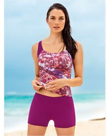 tankini triangular con short-455- Purple and Orange-MainImage
