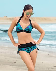 racerback top with adjustable coverage bottom-912- Turquoise-MainImage