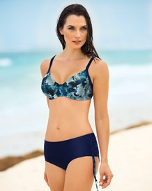 high-waist bikini-509- Blue-MainImage